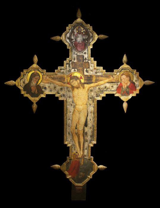 Croce dipinta - Fronte